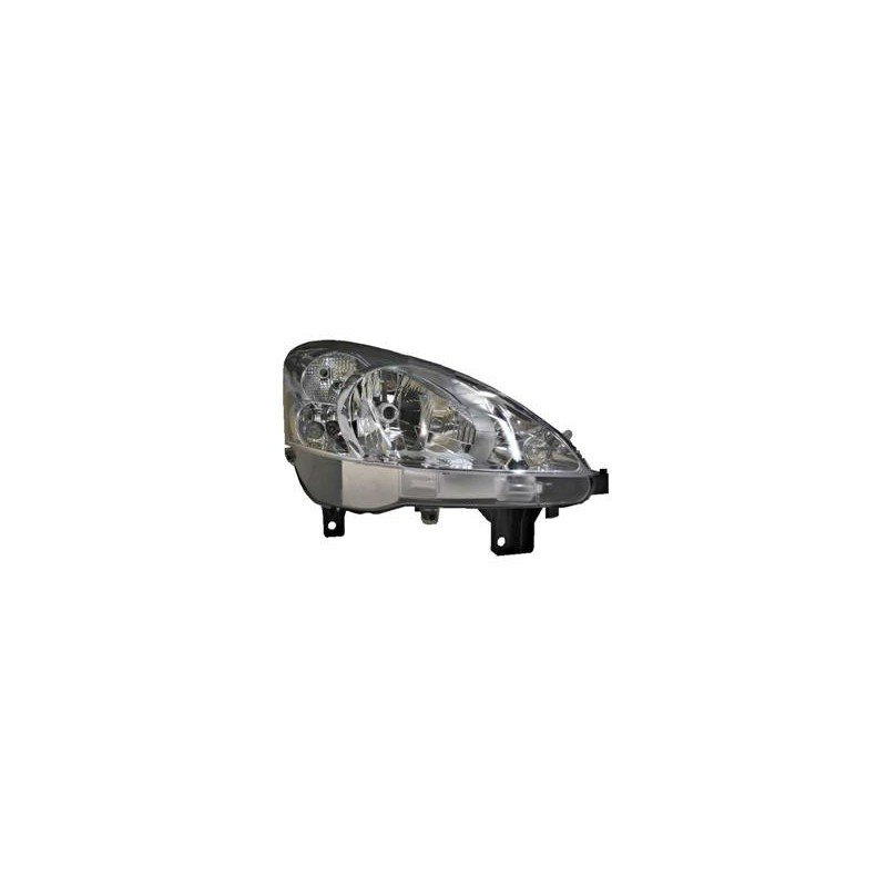 4052962v phare droit valeo h4 avec feu de direction pour peugeot partner de 2 ebay. Black Bedroom Furniture Sets. Home Design Ideas