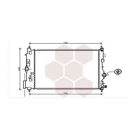radiateur moteur pour opel astra j version 1 7 cdti turbo diesel kw92 2 0 cdti turbo. Black Bedroom Furniture Sets. Home Design Ideas