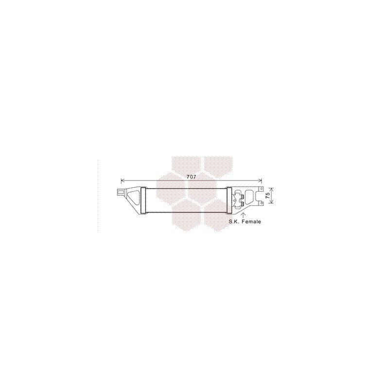 radiateur huile pour mercedes classe b - pièces détachées de