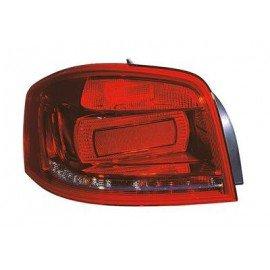 Feu arrière gauche complet pour Audi A3 d'avant mai 2010 en 3 portes