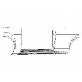 Bas de caisse 2 portes coté gauche pour Ford Capri depuis 1974