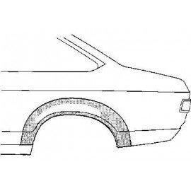 Arc d'aile arrière 2 portes coté gauche pour Ford Capri d'après 1974