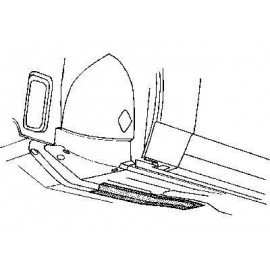 Poutre avant gauche pour Ford Escort 3 de 1976 à 1986