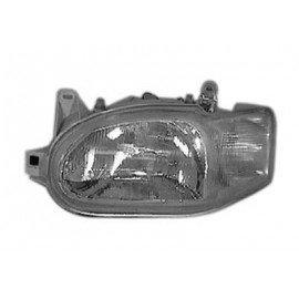 Phare gauche H4 avec feu de position, compatible réglage électrique pour Ford Escort depuis 1995