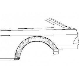 Arc d'aile arrière gauche pour Ford Sierra version 4 portes