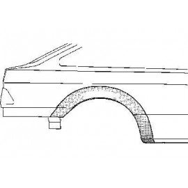 Arc d'aile arrière droit pour Ford Sierra version 4 portes