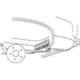 Traverse arrière gauche pour Ford Transit d'avant 1986