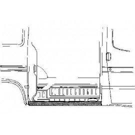 Tôle latérale pour Ford Transit de 1986 à 1994