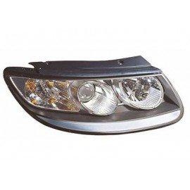Phare droit H7+H7 avec feu de direction pour Hyundai Santa Fe de 2010 à 2012