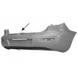 pare-chocs arrière plastique pour Mazda 3 de 2003 à juin 2006 version 5 portes