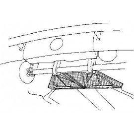 Châssis avant, plancher pour Volkswagen Coccinelle sauf 1302 et 1303