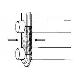 Support essieu avant pour Volkswagen Coccinelle sauf version 1302 et 1303