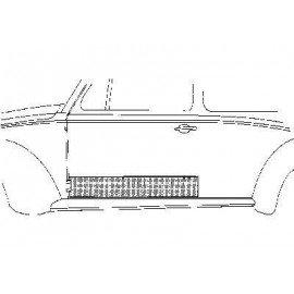 Panneau gauche 2 portes pour Volkswagen Coccinelle