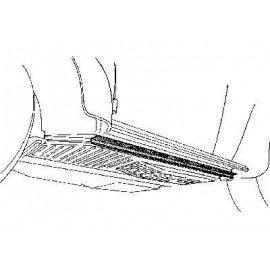 Dessous bas de caisse gauche pour Volkswagen Coccinelle sauf version cabriolet