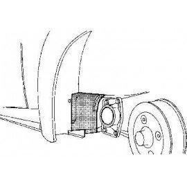 Pare-boue arrière gauche pour Volkswagen Coccinelle