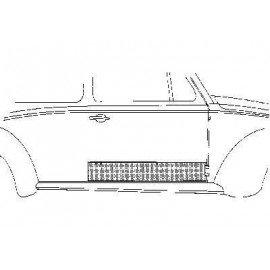 Panneau droit 2 portes pour Volkswagen Coccinelle
