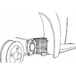 Pare-boue arrière droit pour Volkswagen Coccinelle