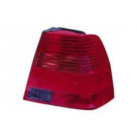 Feu arrière droit sans partie électrique avec feu de direction fumé pour Volkswagen Bora de 1998 à 2006 sauf version Variant