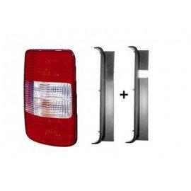 Feu arrière gauche sans partie électrique pour Volkswagen Caddy de 2004 à 2010