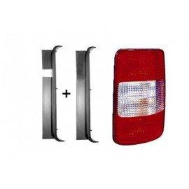 Feu arrière droit sans partie électrique pour Volkswagen Caddy de 2004 à 2010