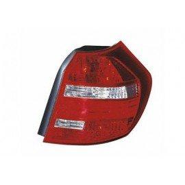 Feu arrière droit sans partie électrique LED pour BMW serie 1 E81 de 2007 à 2011 (sauf coupé, cabriolet)