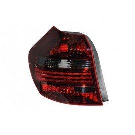 Feu arrière gauche complet, fumé, pour BMW serie 1 E81 de 2007 à 2011 (sauf coupé, cabriolet)
