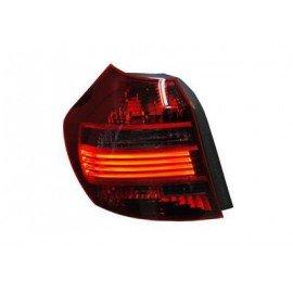 Feu arrière gauche complet, fumé, LED pour BMW serie 1 E81 de 2007 à 2011 (sauf coupé, cabriolet)
