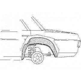 Arc aile arrière intérieur gauche pour Mercedes classe E - W114-115 de 1968 à 1975