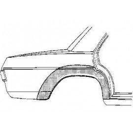 Arc d'aile arrière droite 4 portes pour Mercedes classe E - W114-115 de 1968 à 1975