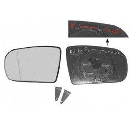 Miroir de rétroviseur gauche, pour retro OE, chauffant pour Mercedes classe E W210 de 1999 à 2002