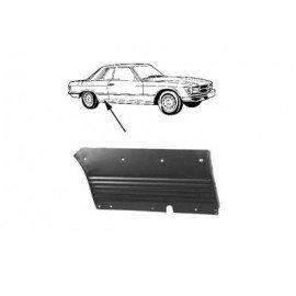Panneau latéral arrière droit pour Mercedes SL - W107 de 1971 à 1989 (modèle SLC)