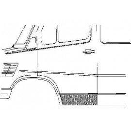 Panneau de porte gauche pour Mercedes T1 207 D