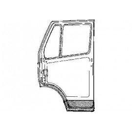 Partie intérieure de porte gauche pour Mercedes T1 207 D