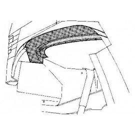 Arc d'aile intérieur avant gauche pour Mercedes T1 207 D