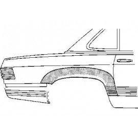 Arc d'aile arrière droite 2 portes pour Mercedes SL - W107 de 1971 à 1989
