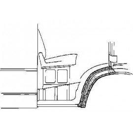 Arc d'aile avant droite (partie arrière) pour Mercedes T1 207 D