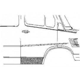 Panneau de porte droite pour Mercedes T1 207 D