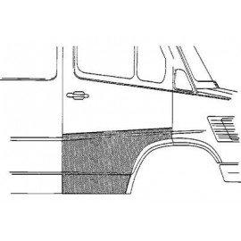Panneau de porte droite large pour Mercedes T1 207 D