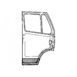 Partie intérieure de porte droite pour Mercedes T1 207 D