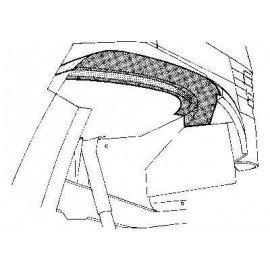 Arc d'aile intérieur avant droit pour Mercedes T1 207 D