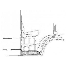 Bas de caisse droit pour Mercedes T1 207 D