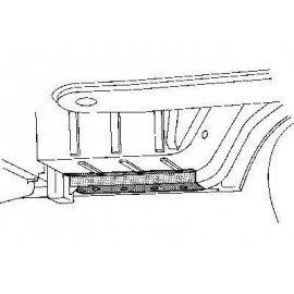 Poutre avant droite pour Mercedes T1 207 D