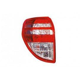 Feu arrière gauche sans partie électrique pour Toyota Rav4 de septembre 2008 à 2010