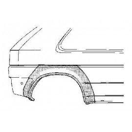 Arc d'aile arrière droite pour Opel Astra F d'avant 1998 version 2 ou 3 portes sauf modèle Cabriolet