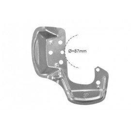 Protection disque de freins, avant droit (diam 87mm) pour Opel Tigra de 1994 à 2000