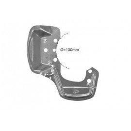 Protection disque de freins, avant droit (diam 100mm) pour Opel Tigra de 1994 à 2000