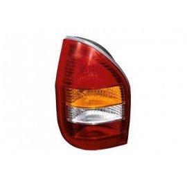 Verre de feu arrière gauche avec répétiteur orange pour Opel Zafira de 1999 à 2005