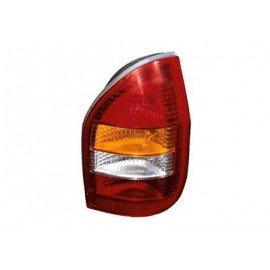Verre de feu arrière droit avec répétiteur orange pour Opel Zafira de 1999 à 2005