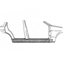 Bas de caisse droit pour Nissan Sunny N14 de 1991 à 1995 version 4/5 portes