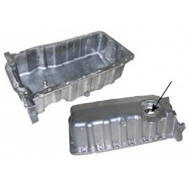 Carter huile aluminium pour capteur de niveau pour Skoda Fabia de 1999 à 2007 version 2.0 / 1.9 SDi et TDi